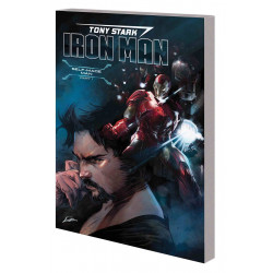 TONY STARK IRON MAN VOL.1 SELF MADE MAN