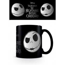 JACK SKELLINGTON FACE METALLIC MUG