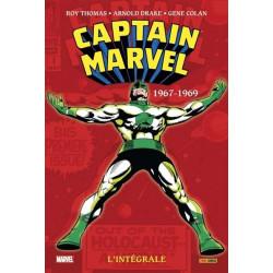 CAPTAIN MARVEL : L'INTEGRALE T01 (1967-1969)