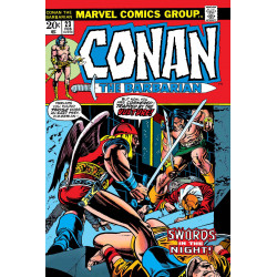 TRUE BELIEVERS CONAN SWORDS IN NIGHT