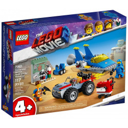 EMMET AND BENNY'S BUILD AND FIX WORKSHOP LEGO MOVIE 2 BOX 70821
