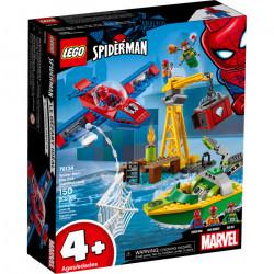 DOC OCK DIAMOND HEIST SPIDER-MAN MARVEL LEGO 76134