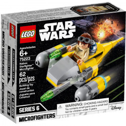 NABOO STARFIGHTER MICROFIGHTER STAR WARS LEGO BOX 75223