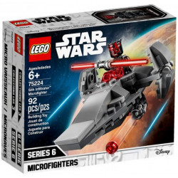 SITH INFILTRATOR MICROFIGHTER STAR WARS LEGO BOX 75224
