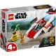 REBEL A-WING STARFIGHTER STAR WARS LEGO BOX 75247