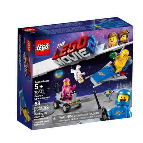 Space Benny Movie 70841 Lego Box S Squad 2 76fgyb