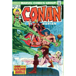 TRUE BELIEVERS CONAN CURSE OF GOLDEN SKULL