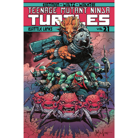 TMNT ONGOING TP VOL 21 BATTLE LINES