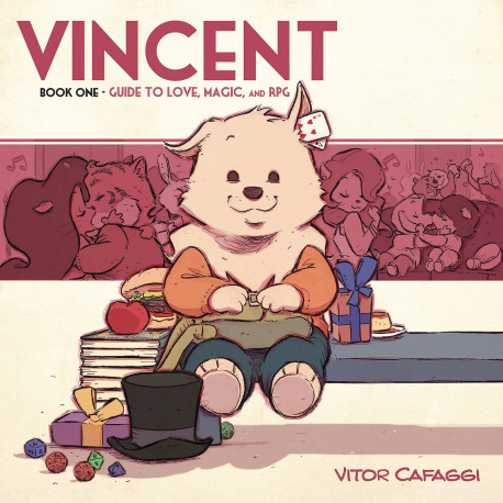 Vincent Gn Book 1 Guide To Love Magic Rpg Album Comics