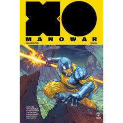 X-O MANOWAR 2017 MATT KINDT DLX HC VOL 1