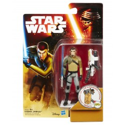 STAR WARS THE FORCE AWAKENS - KANAN JARRUS - SNOW DESERT WAVE 2 ACTION FIGURE