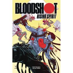 BLOODSHOT RISING SPIRIT 5 CVR B HAMNER