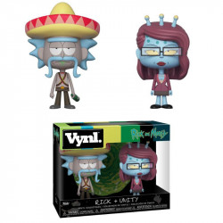 RICK AND UNITY RICK AND MORTY VYNL 2 PACK FIGURE