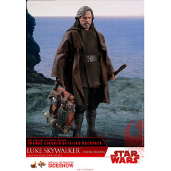 LUKE SKYWALKER 1/6 MOVIE MASTER PIECE DELUXE EDITION STAR WARS EPISODE 8 ACTION FIGURE