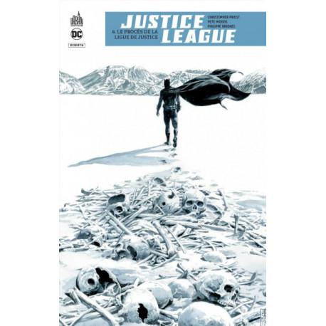 JUSTICE LEAGUE REBIRTH TOME 6 - DC REBIRTH