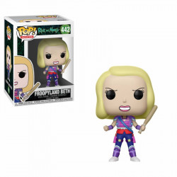 FROOPYLAND BETH RICK AND MORTY POP! ANIMATION VYNIL FIGURE