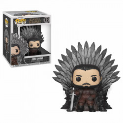JON SNOW SITTING ON THRONES GAME OF THRONES POP! VINYL FIGURE