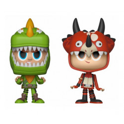 REX AND TRICERA OPS FORTNITE VYNL 2 PACK FIGURE