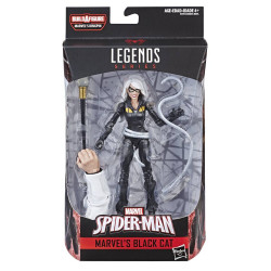 BLACK CAT SPIDER-MAN MARVEL LEGENDS ACTION FIGURE