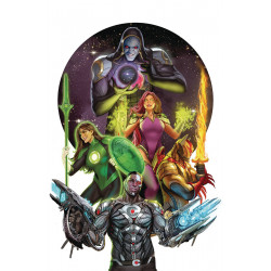JUSTICE LEAGUE ODYSSEY TP VOL 1 THE GHOST SECTOR