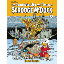 COMPLETE LIFE TIMES UNCLE SCROOGE HC VOL 1 ROSA