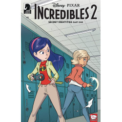 DISNEY INCREDIBLES 2 SECRET IDENTITIES 1 CVR A CLAUDIO VINCI