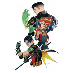 YOUNG JUSTICE 4 VAR ED