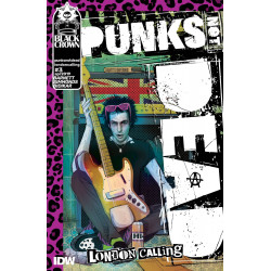 PUNKS NOT DEAD LONDON CALLING 3 SIMMONDS
