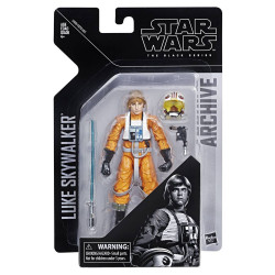 LUKE SKYWALKER STAR WARS BLACK SERIES ARCHIVE E4 6IN ACTION FIGURE