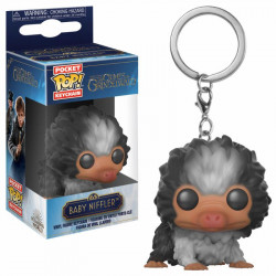 BABY NIFFLER BLACK AND WHITE FANTASTIC BEASTS 2 POCKET POP KEYCHAIN