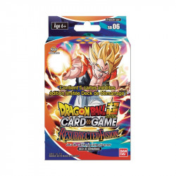 RESUEEACTED FUSION DRAGON BALL SUPER CARD GAME STARTERGOGETA PACK SD 06