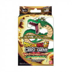 SHENRON'S ADVENT DRAGON BALL SUPER CARD GAME STARTER PACK SD 07