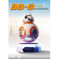 BB-8 FLOATING VERS. DIORAMA LUNINEUX STRA WARS EPISODE VIII