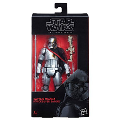CAPTAIN PHASMA QUICKSILVER BATON STAR WARS EPISODE 8 ACTION FIGURE