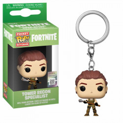 TOWER RECON SPECIALIST FORTNITE POCKET POP! GAMES VYNIL KEYCHAIN