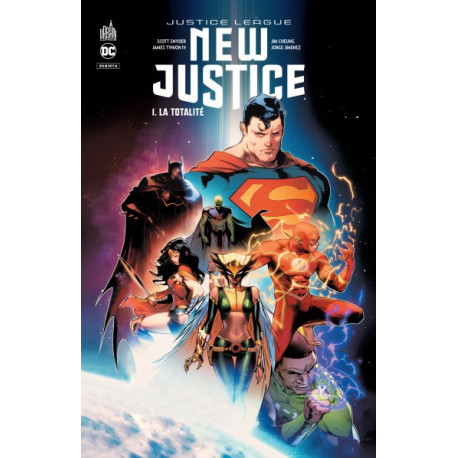 NEW JUSTICE TOME 1 - DC REBIRTH