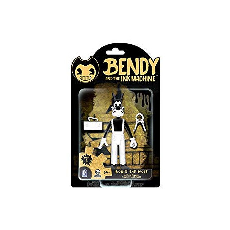 BORIS THE WOLF BENDY AND THE INK MACHINE SERIE 1 ACTION FIGURE