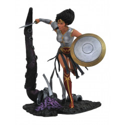 WONDER WOMAN METAL DC COMICS GALLERY PVC STATUE