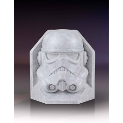 STORMTROOPER STONEWORKS HELMET BOOKEND STAR WARS STATUE