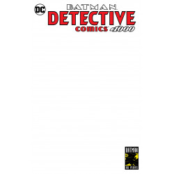 DETECTIVE COMICS 1000 BLANK VAR ED