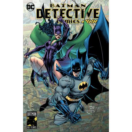 DETECTIVE COMICS #1000 CATWOMAN VARIANT COVER EXCLUSIVE ALBUM COMICS
