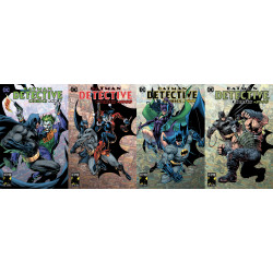 DETECTIVE COMICS #1000 JIM LEE VARIANT COVER EXCLUSIVE 4 PACK