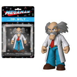 DR WILY MEGAMAN ACTION FIGURE