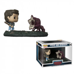 STEVE AND DEMODOG STRANGER THINGS FUNKO POP! TV VINYL FIGURINE