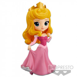 AURORA PINK DRESS SLEEPING BEAUTY DISNEY Q POSKET FIGURE