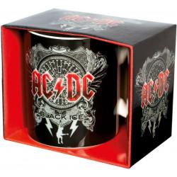 AC/DC BLACK ICE LOGO BOXED MUG