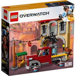 DORADO SHOWDOWN OVERWATCH LEGO BOX 75972
