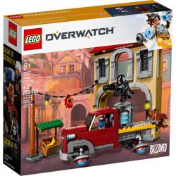 DORADO SHOWDOWN OVERWATCH LEGO BOX 75972