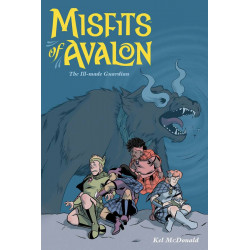 MISFITS OF AVALON TP VOL 2 THE ILL MADE GUARDIAN