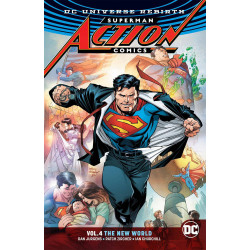 SUPERMAN ACTION COMICS TP VOL 4 THE NEW WORLD REBIRTH